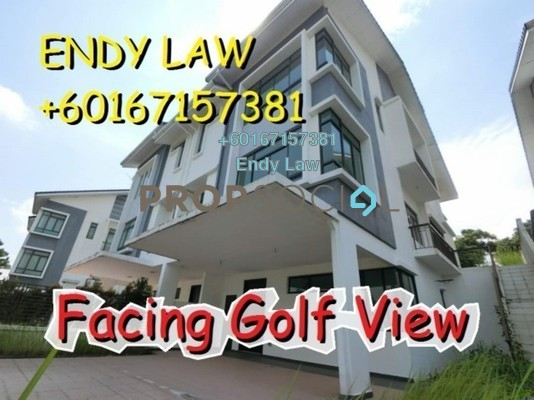 Semi-Detached For Sale in Golf View Apartment, Bukit Jambul Freehold Unfurnished 4R/5B 1.68m