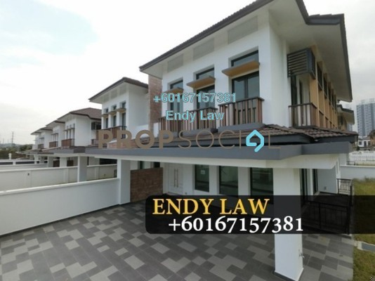 Semi-Detached For Sale in Eco Botanic, Skudai Freehold Unfurnished 5R/5B 1.17m