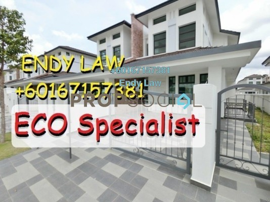 Semi-Detached For Sale in EcoSky, Kuala Lumpur Freehold Unfurnished 5R/5B 880k