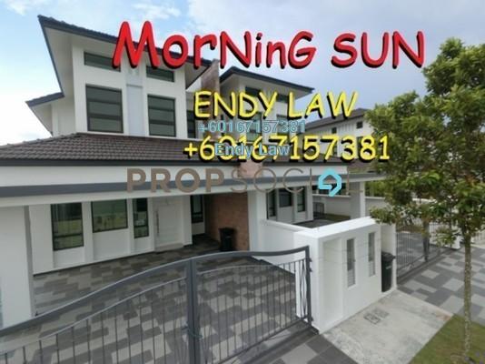 Semi-Detached For Sale in 100 Residency, Setapak Freehold Unfurnished 5R/5B 898k