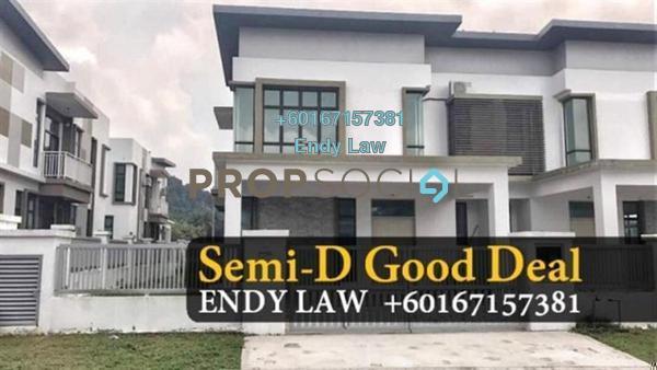 Semi-Detached For Sale in Taman Pulai Hijauan, Skudai Freehold Semi Furnished 5R/4B 690k