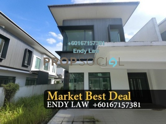 Semi-Detached For Sale in Luciana, Setia Eco Gardens Freehold Semi Furnished 5R/5B 1.11m