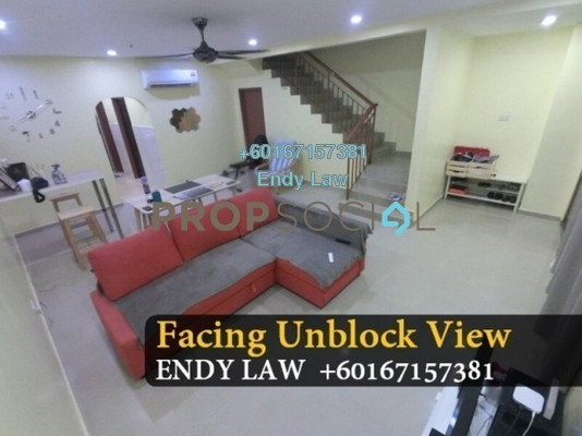 Terrace For Sale in Taman Nusa Indah, Iskandar Puteri (Nusajaya) Freehold Semi Furnished 4R/3B 551k
