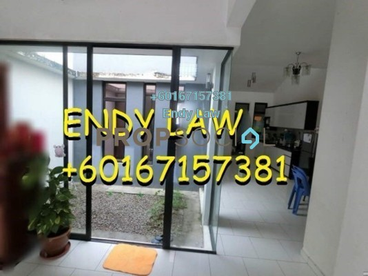 Terrace For Sale in Luciana, Setia Eco Gardens Freehold Semi Furnished 3R/2B 439k
