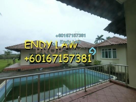 Bungalow For Sale in Taman Austin Perdana, Johor Bahru Freehold Semi Furnished 5R/5B 5.5m