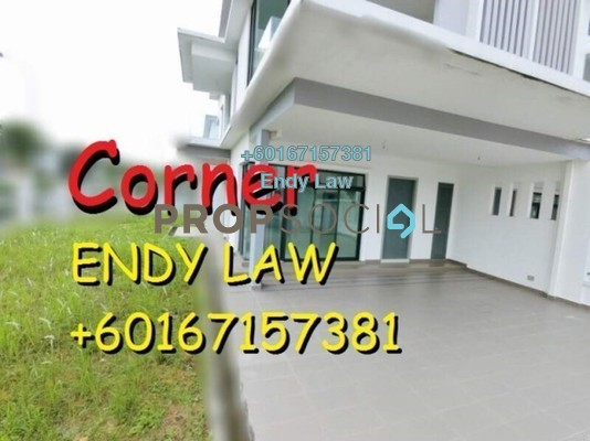 Terrace For Sale in Morning Dew Tower, Gelugor Freehold Unfurnished 4R/4B 1.28m