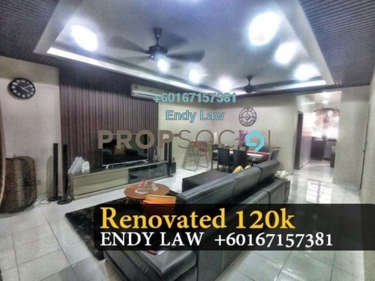 Terrace For Sale in Luciana, Setia Eco Gardens Freehold Semi Furnished 4R/3B 600k