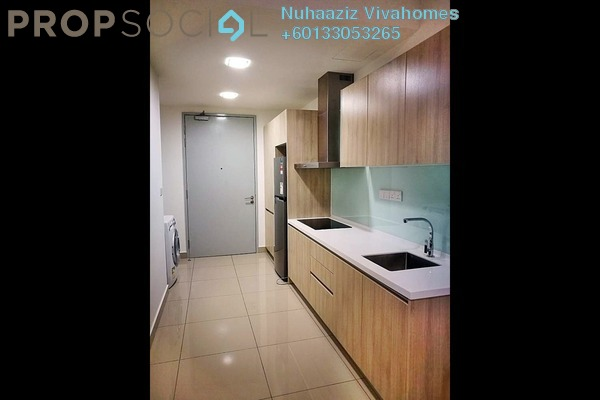 Condominium For Rent in Hicom-Glenmarie Industrial Park, Shah Alam Freehold Fully Furnished 2R/1B 1.6k