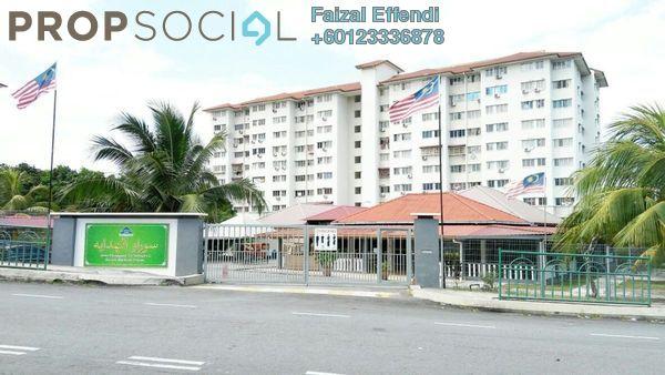 Apartment For Sale in Angsana Apartment, Bandar Mahkota Cheras Freehold Unfurnished 3R/2B 240k