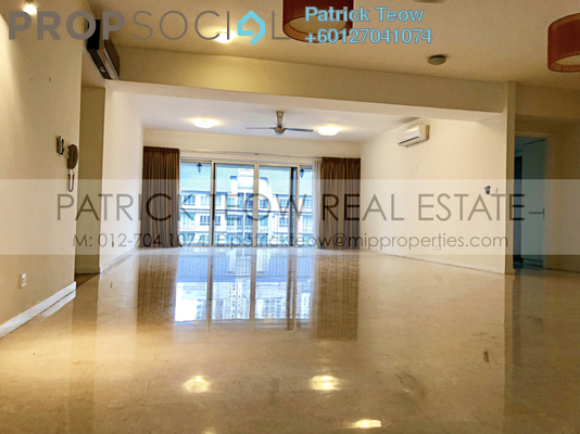 Condominium For Rent in Kiaraville, Mont Kiara Freehold Semi Furnished 4R/5B 9k