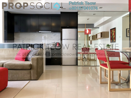 Condominium For Sale in VERVE Suites, Mont Kiara Freehold Fully Furnished 1R/1B 680k