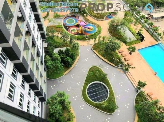 Condominium For Sale in Mercury Serviced Apartment @ Sentul Village, Sentul Freehold Semi Furnished 3R/2B 540k