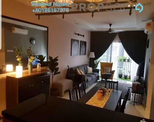 Condominium For Sale in Seasons Garden Residences, Wangsa Maju Freehold Semi Furnished 3R/2B 550k