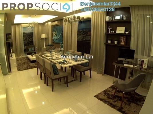 Serviced Residence For Sale in Hampton Damansara, Kuala Lumpur Freehold Semi Furnished 3R/2B 1.02m