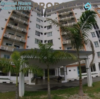 Condominium For Sale in Casamas Condo, Ukay Freehold Unfurnished 3R/2B 420k