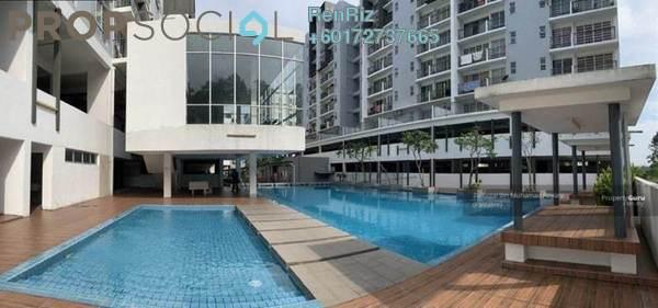 Condominium For Sale in Hijauan Heights, Kajang Freehold Semi Furnished 6R/2B 310k
