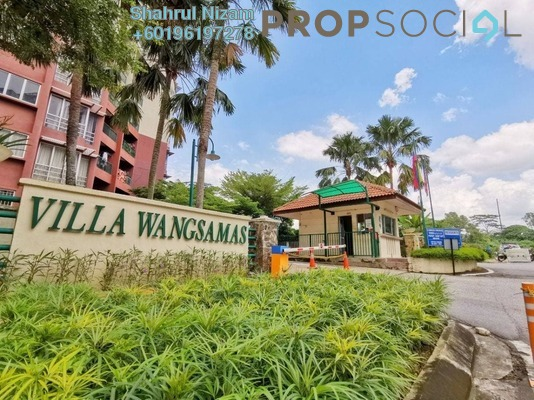 Condominium For Sale in Villa Wangsamas, Wangsa Maju Freehold Semi Furnished 3R/2B 580k