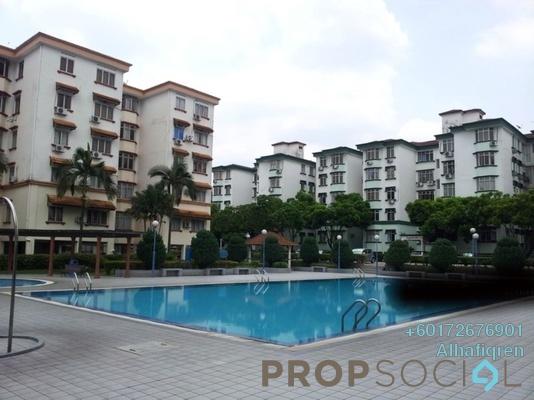 Condominium For Sale in Goodyear Court 10, UEP Subang Jaya Freehold Semi Furnished 3R/2B 365k