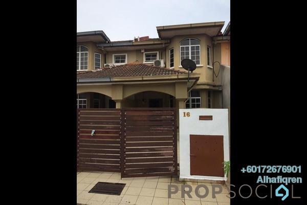 Terrace For Rent in BP3, Bandar Bukit Puchong Freehold Semi Furnished 3R/3B 1.3k