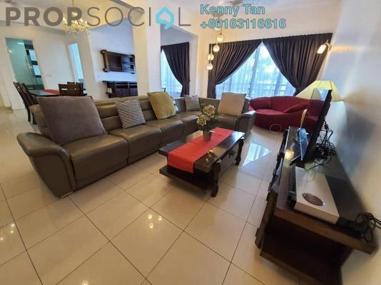 Condominium For Rent in Surian Condominiums, Mutiara Damansara Freehold Fully Furnished 4R/3B 5k