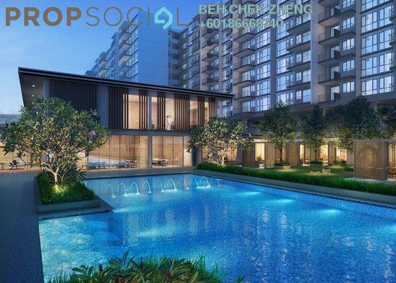 Condominium For Sale in The Birch, Sentul Freehold Semi Furnished 2R/2B 360k
