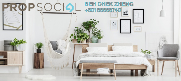 Condominium For Sale in The Birch, Sentul Freehold Semi Furnished 3R/2B 488k