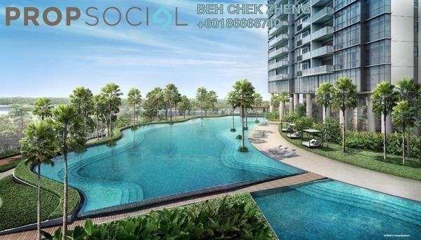 Condominium For Sale in M Arisa, Sentul Freehold Semi Furnished 2R/2B 345k