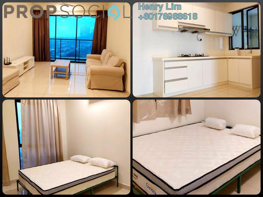 Condominium For Rent in Lido Residency, Bandar Sri Permaisuri Freehold Fully Furnished 3R/2B 2.1k