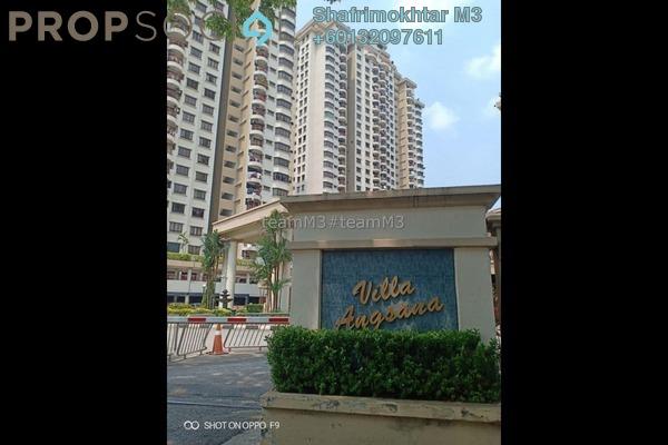 Condominium For Sale in Villa Angsana, Jalan Ipoh Freehold Semi Furnished 3R/2B 410k