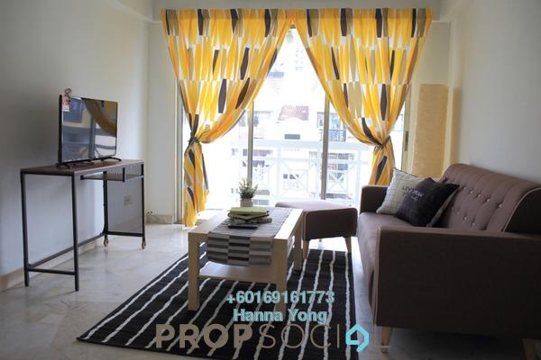 Apartment For Rent in Makmur Apartment, Bandar Sunway Freehold Fully Furnished 3R/2B 1.5k