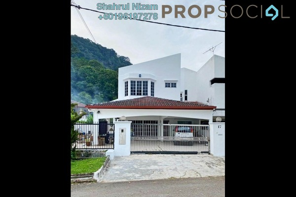 Semi-Detached For Sale in Taman Melawati, Kuala Lumpur Freehold Semi Furnished 5R/3B 2.3m