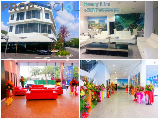 Shop For Rent in Bukit Kemuning Industrial Park, Kota Kemuning Freehold Semi Furnished 0R/0B 45k