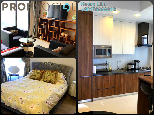 Serviced Residence For Rent in South View, Bangsar South Freehold Fully Furnished 3R/2B 3.5k