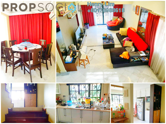 Duplex For Sale in Ampang 971, Ampang Hilir Freehold Fully Furnished 3R/3B 1.8m