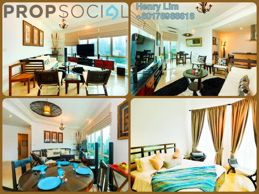 Serviced Residence For Sale in 231 TR, KLCC Freehold Fully Furnished 2R/2B 750k