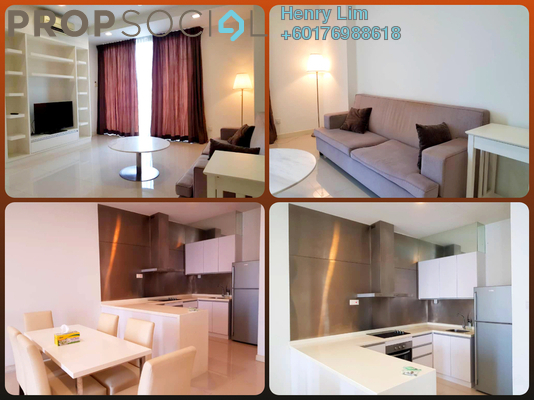 Serviced Residence For Rent in Camellia, Bangsar South Freehold Fully Furnished 2R/1B 2.8k