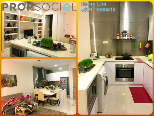 Serviced Residence For Rent in Camellia, Bangsar South Freehold Fully Furnished 1R/1B 2k