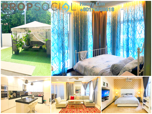 Semi-Detached For Sale in Saville @ The Park, Pantai Freehold Fully Furnished 4R/4B 2.9m