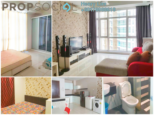 Serviced Residence For Sale in Central Residence, Sungai Besi Freehold Fully Furnished 2R/2B 408k
