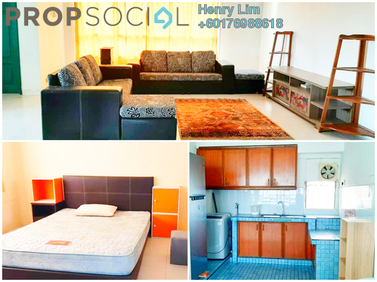 Condominium For Rent in OG Heights, Old Klang Road Freehold Fully Furnished 2R/2B 1.4k