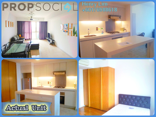 Serviced Residence For Sale in myHabitat, KLCC Freehold Fully Furnished 2R/1B 820k