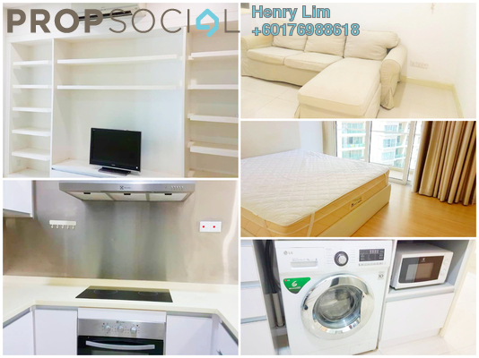 Serviced Residence For Rent in Camellia, Bangsar South Freehold Fully Furnished 1R/1B 1.9k