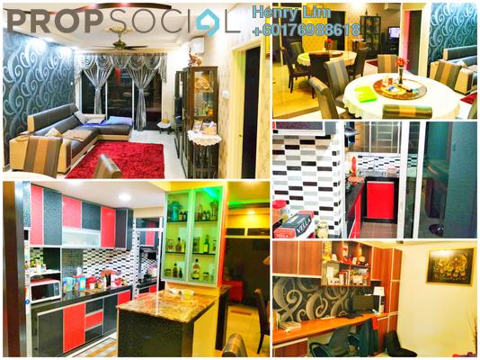 Condominium For Sale in Platinum Lake PV20, Setapak Freehold Fully Furnished 3R/2B 478k
