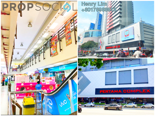 Shop For Sale in Pertama Complex, Dang Wangi Freehold Unfurnished 0R/0B 550k