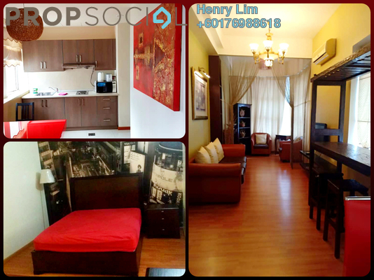 Serviced Residence For Sale in Park View, KLCC Freehold Fully Furnished 1R/1B 525k