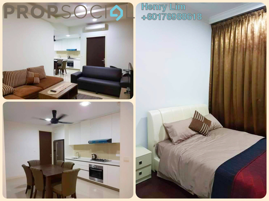 Serviced Residence For Rent in Setia Sky Residences, KLCC Freehold Fully Furnished 1R/1B 1.8k