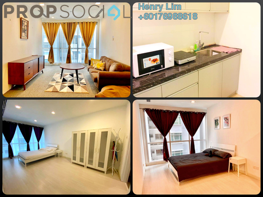 Serviced Residence For Sale in Binjai 8, KLCC Freehold Fully Furnished 1R/1B 800k