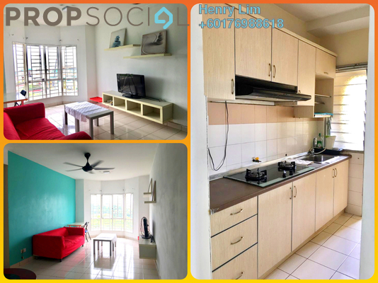 Condominium For Rent in Puncak Banyan, Cheras Freehold Fully Furnished 3R/2B 1.4k