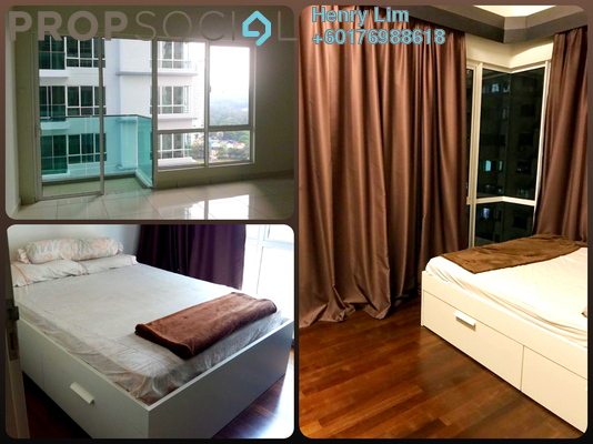 Serviced Residence For Sale in Glomac Damansara Residences, TTDI Freehold Semi Furnished 3R/2B 835k