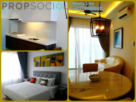 Serviced Residence For Rent in Desa Green Serviced Apartment, Taman Desa Freehold Fully Furnished 2R/2B 1.9k